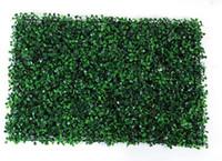 grama varanda venda por atacado-40x60 cm Grama Verde Artificial Turf Plantas Jardim Ornamento Plástico Relvados Tapete Varanda Parede Cerca Para Casa jardim Decoracion