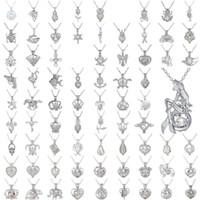 diseño de joyas collar de perlas al por mayor-Creativa Exquisita Joyería Colgante Ahuecado Diseño de Aleación de Metal Collar Para Las Mujeres Perla Clavicular Cadena de Alta Calidad 2 91 db BB