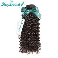 afro kinky kıvırcık insan saçı örgüleri toptan satış-Rosa Güzellik Saç Ürünleri Moğol Afro Kinky Kıvırcık Saç 100% Insan Örgü Demetleri Remy Uzantıları Nakliye Ücretsiz