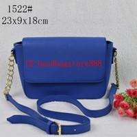 Wholesale saddle blue resale online - 2019 hot sale women bags lady PU leather famous handbags Designer saddle bags purse ladies shoulder tote Bag