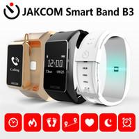 Wholesale golden earphones - TalkBand JAKCOM B3 Bracelet Also Bluetooth Headset OLED Screen Touchpad Pulse Heart Rate Step Time Bluetooth Earphone
