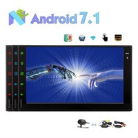 Wholesale Links Audio - Android 7.1 Car Stereo 2GB+32GB Octa Core In Dash Navigation Double Din 7'' TouchScreen Radio Auto Car Audio Bluetooth WiFi Mirror Link