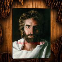 arte floral moderno al por mayor-Heaven is for REAL Jesus, Lienzo Home Decor HD Impreso Arte Moderno Pintura sobre Lienzo (Sin Marco / Enmarcado)