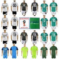 04f2fd93b Germany 13 Gerd Muller Jersey Set 2018 World Cup Men Soccer 23 Mario Gomez  10 Mesut Ozil Football Shirt Kits Custom Name Number