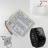 Wholesale replacement battery 3.7v for sale - Group buy New V mAh Wh Replacement Battery for TomTom Spark GPS Fitness Watch Gift