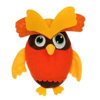 Wholesale owl supplies - Pet Dogs Puppy Squeaky Plush Chewing Toys Owl Design Plush Toys Soft Plush Chewing Training Toys Pet Supplies CCA10066 30pcs