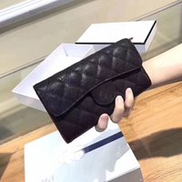 Wholesale free discount cards online - free shiping women long style zipper cavier wallet lady fashion long style purse phone bag for female discount