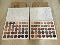 Wholesale makeup eyeshadow glitter box resale online - 35colors Eyeshadow Palette color eye shadow Mophe Makeup Palette A B with White box high quality DHL FREE