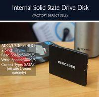 pc katı hal toptan satış-2.5 inç SSD 60 GB 120 GB 240 GB PC Laptop için 7mm Katı Hal Sürücü ultrabook destek OEM Ücretsiz shiping