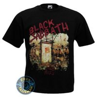 regra de metal venda por atacado-Hard Rock Heavy Metal Punk Band Black Sabbath Mob Regras T-shirt dos homens Unisex impresso personalizado T-shirt hip hop teemens engraçado camisetas