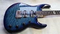 ingrosso porcellana di qualità chitarre-2016 nuovo arrivo di buona qualità Fabbrica JP6 JP7 Ernieball Musicman Luke Chitarre elettriche Lake Blue China Guitars Spedizione gratuita