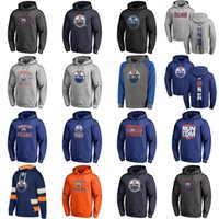 Wholesale cheap xxl hoodies - Hot Sale Custom Mens Womens Kids Edmonton Oilers Cheap Top Quality Stitched Black Grey Navy Orange Ice Hockey Hoodies with Any Name&Any No.