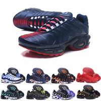 best website 458da 010e0 Nike TN plus air max airmax Remise Hight Qualité Sports Chaussures  Décontractées Nouveau TN Hommes Noir Blanc Rouge Hommes Respirant Runner  Sneakers Homme ...