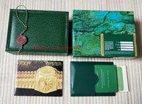erkek hediyesi toptan satış-Lüks Yüksek Kalite Yeşil İzle Orijinal Kutusu GMT 116610 116600 116500 116710 Broşür belgesi hediye mevcut adam kadın Saatler
