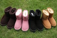 boy boots sale NZ - Hot SALE New Real Australia 528 High-quality Kid Boys girls children baby warm snow boots Teenage Students Snow Winter boots FAST shipping