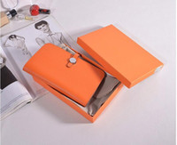 beaux sacs à main de femmes achat en gros de-Luxe H marque portefeuille femme sac à main sac portefeuille en cuir véritable embrayage porte-cartes de crédit d'identité passeport belle peau de vache bourse dame femme