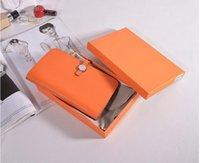 marcas de bolsas venda por atacado-Luxo H marca carteira mulher bolsa bolsa passaporte ID cartão de crédito titular do couro embreagem verdadeira carteira de couro bela mulher bolsa senhora