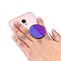 Wholesale sell cell phones online - 2018 amazon top sell Customized cell phone holder For mobile phone holders Real M glue support reusable Custom Logo phone accessories