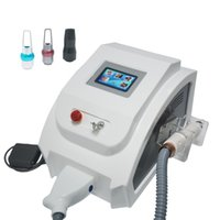 Handle is new mode l1064nm 532nm black doll 2000mj yag laser tattoo remova pigment removal machine with red pointer red aiming