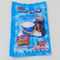 fake schnee dekorationen großhandel-Weihnachtsschmuck Spielzeug Schnee Magie Prop Diy Instant Künstliche Spielwaren Expansive Schneeflocke Simulation Gefälschte Party Originalität Geschenk 0 4lh jj