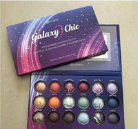 Wholesale baked eye shadow for sale - Group buy New Galaxy Chic Eye shadow palette color Baked Eyeshadow Palette Galaxy Chic Baked eyeshadow palette shipping free