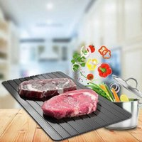 Wholesale frozen accessories for sale - Group buy Kitchen Fast Safest Defrosting Tray Frozen Meat Food Quick Thawing Board Tool Chopping Blocks Kitchen Knives Accessories