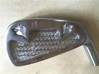 Wholesale gp set - GP Platinum Iron Set GP Platinum Golf Forged Irons Golf Clubs 4-9Pw Regular Stiff Steel Shaft With Head Cover