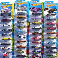 mini brinquedo carro coleção venda por atacado-2018 Hot Wheels Carros 1: 64 Ducati Diecast Cars Fast and Furious Cars NISSAN Modelo de Carro Esporte Hotwheels Mini Car Toy Coleção para Meninos