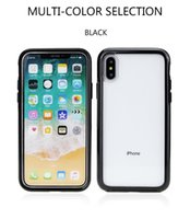 Wholesale blue series x - symmetry series clear case for iphone X 8 7 6S plus commuter case Robot Rugged Hybrid Armor