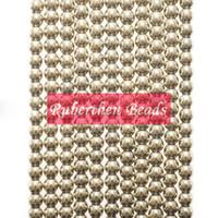 natürliche pyritsteine großhandel-Großhandel Trendy Naturstein Hohe Menge Pyrit Lose Perlen Stein Runde Perle Besten Schmuck Machen Zubehör Großhandel