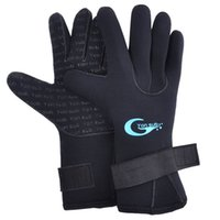 Wholesale wetsuit swimming man - 3MM Diving Gloves Men Women Winter Swimming Gloves Safe Non-slip Snorkeling Equipment Anti Scratch Keep Warm Wetsuit Glove