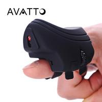 ingrosso mouse mini dito palmare-[AVATTO] 2.4G Wireless Finger 3D Mini USB Mouse da gioco ottico Mouse ricaricabile Palmare per PC portatile Desktop Tablet PC