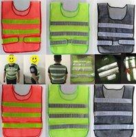 casaco de roupa de segurança venda por atacado-roupas de alerta visibilidade reflexiva Segurança Vest Brasão Saneamento colete de segurança colete manutenção de segurança do partido A0239-1 Favor