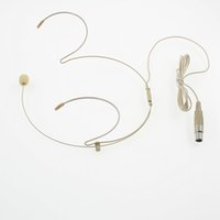 ingrosso pin del microfono del connettore-Microfono Headset per cuffia con connettore Mini 4 pin XLR Connettore TA4F per PGX14 SLX14 Wireless Body-Pack Transmitter
