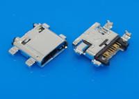 mini jak bağlantı pimleri toptan satış-Şarj portu mini 7-pin Mikro USB Dock jack soket dişi Konnektör Samsung Grand Başbakan G531