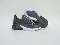 Wholesale girls hard soled shoes for sale - With Box high quality Kids Triple Black Trainer Sports Running Shoes Boys girls sole Sneakers