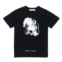 Wholesale Life Size Female - TROND LIFE c o VIRGIL ABLOH 17F W screaming child short sleeved tee male and female identical OVER SIZE T shirt for men