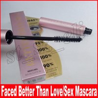 Wholesale color full cosmetics resale online - Better Than Sex Mascara Pink With Instructions Faced Cosmetic Better Than Sex Mascara Black Color Volume