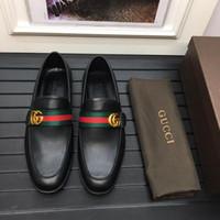 sürüm sim toptan satış-En Yumuşak Deri Erkek Sandalet su geçirmez Lüks Marka Flats Ayakkabı Kore Versiyonu Günlük Nefes Ayak Tembel Rahat Gerçek Deri Sandalet 5-11