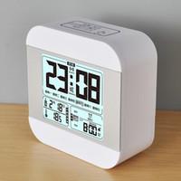 digital alarm clock student lcd display snooze electronic music luminous kids nightlight office table digital office clocks h18 clocks
