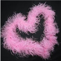Wholesale feather for birthday party decoration for sale - Group buy ply Red Ostrich Feather Boa for Arts and Crafts any colors you can choose