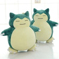 Wholesale stuffed animals for sale for sale - 30cm Snorlax Plush Doll Toy Cartoon Cute Pet Elves Stuffed Figure Birthday Gifts For Children Hot Sale ml WW