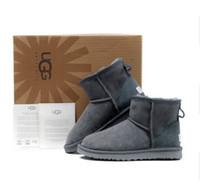 2018 зима Новый G Австралия Классический снег Сапоги A +++ Качество Дешевые  женщины мужчины зимние сапоги мода скидка Ботильоны Boots размер обуви 5-12  Hot 912022e706a