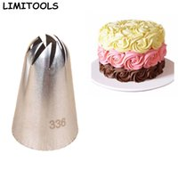 Wholesale Large Icing Tips - Wholesale-LIMITOOLS Large Size Icing Piping Nozzle Cake Cream Decoration Head Bakery Pastry Tip