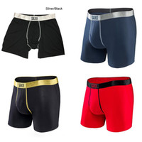 Wholesale Underwear Man Briefs S - Saxx Underwear Platinum Boxer Brief with Fly - 4 colors -saxx underwear men boxer&North American Size- 95%MODAL , 5%SPANDEX