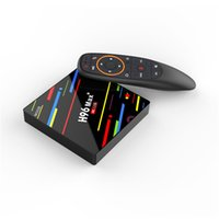 Wholesale android tv box pricing for sale - H96 MAX VOICE GB GB best price android tv box g wifi rk3328 voice control