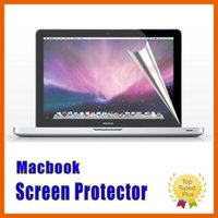 Wholesale macbook 13 cover protector resale online - HD Ultra Clear Screen Protector LCD Guard Cover Film For Macbook Air Retina Pro inch with Retail Packages