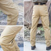 Wholesale men s work clothing online - Military Cargo Pants Trousers Tactical Casual Pants Men City Work Clothing Pantalon SWAT Hunter Joggers Wear resisting Trousers