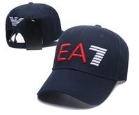 soğutma yaz şapkaları toptan satış-Yeni erkek kadın Ea Beyzbol Kap Balta Pamuk Spor Rahat açık Güneş şapka Moda Mektup Topu Kap Yaz Örgü Serin D2 g Ücretsiz Nakliye Caps