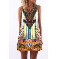 Wholesale mini skirts designs - Youthcare Midi dresses Fancy 3d Bohemia printing design women's dress Fashion MIdi skirt